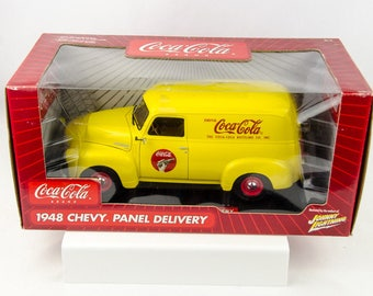 Johnny Lightning Coca Cola 1948 Chevy Panel Delivery 1/18 Scale Diecast Car
