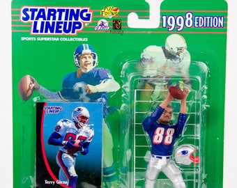 Starting Lineup 1998 NFL Terry Glenn Action Figure New England Patriots