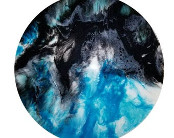 Resin Artwork - Galaxy
