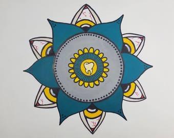 Original Tooth Mandala
