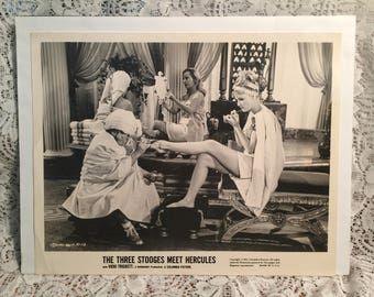 The Three Stooges Meet Hercules Lobby Card