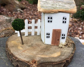 Handmade Cottage/House, Collectable, Gift, Miniature, Rustic, Shabby, Unique.