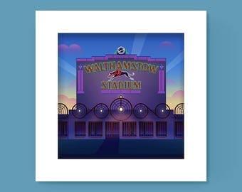 Walthamstow Stadium Print