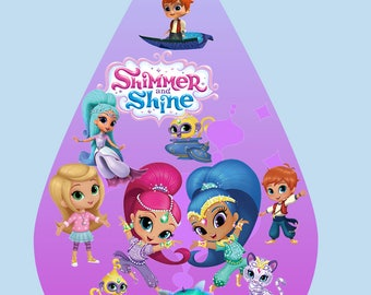 35 Shimmer and Shine ClipArt - Digital , PNG, image, picture,  oil painting, drawing,llustration, art , birthday,handicraft 300 DPI, 300 PPI