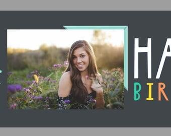 Birthday Banner! Custom Photo Banner!