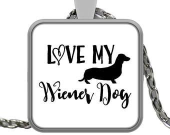 Dachshund Necklace-Wiener Dog Necklace-Wiener Dog Jewelry-Doxie Necklace-Sausage Dog Necklace-Dachshund Pendant-Dog Pendant-Wiener Gifts