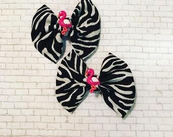 Let's Flamingle Zebra style