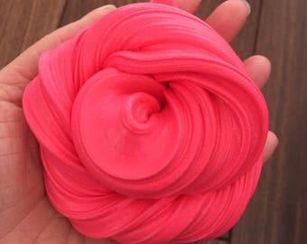 Rasberry rose bud clay slime