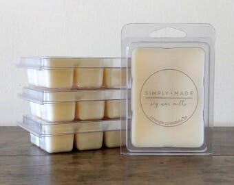 Orange Creamsicle Soy Wax Melts, Scented Wax Melts, Soy Wax Tarts, Soy Melts, Clamshell Melts, Eco Friendly Natural Candle Melts