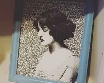 Miss Lily Elsie (framed print)