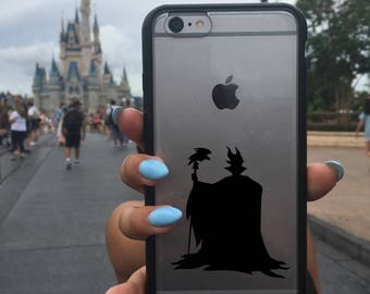 Maleficent Decal, Disney Maleficent Decal, Phone Cover, Maleficent , Maleficent Sticker, Disney Maleficent