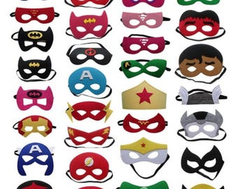 Superheroes Mask