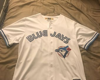 Authentic Toronto Blue Jays Practice Jersey L made by Majestic