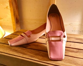 Vintage 1960's Pink Women's Shoe by Werner