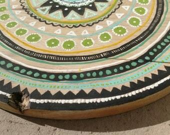 Handpainted Mandala Cutting Board