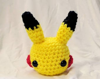 Adorable crochet mini Pikachu