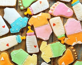 Baby Shower Cookie Gift Set