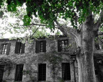 Avignon, France, Travel, Fine Art Photography,Villages, Selective color