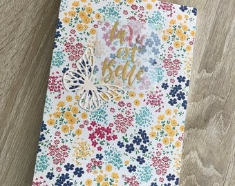 Floral notepad for every day use