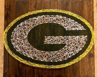 Green Bay Packers String Art