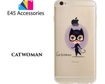 CATWOMAN- Marvel Super Heros Hard Case for iPhone 5S 5 SE, iPhone 6S 6 or iPhone 7