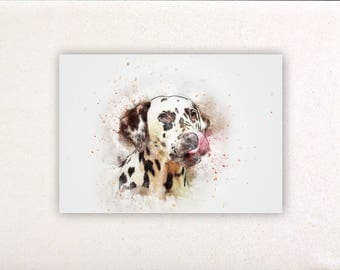 Dog - Watercolor prints, watercolor posters, nursery decor, nursery wall art, wall decor, wall prints 14 | Tropparoba 100% made in Italy