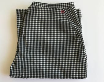 ZoZa 1990s Gingham Trousers