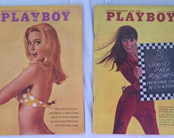 May and July of 1967 issues Playboy Magazine