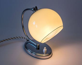 Art Deco table lamp, vintage