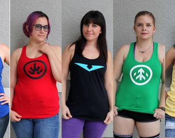 VLD Make Your Own Racerback Tank Top
