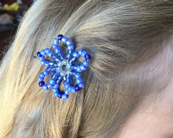 Beaded hair flowers just for your wedding or prom