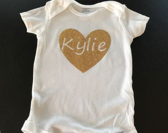 Personalized Baby Outfit shirt