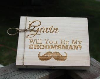 Groomsmen Gift Idea, Cool Groomsmen Gift, Flask Gift Box, Gift for Dad, Gift for Him, Boyfriend Gift, Bridal Party Gift, Gift Box Idea, Gift