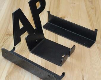 AP - bike pedal hanger / metal bike rack / bicycle storage / bike accessories / bike hooks / Bike Shelf / Indoor / Interior design / Gift