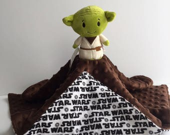 Ultra Plush and Snuggly Star Wars Yoda Lovey