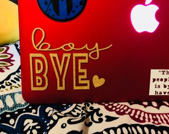 Boy BYE Decal