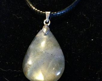 Labradorite grise 4.73Gr, pendentif