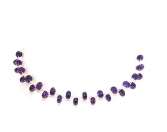 Chain necklace 925 Silver Amethyst beads