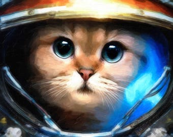 Astronaut Cat - Space Cat - Astro Cat