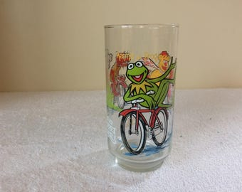 1981 The Great Muppet Caper Kermit The Frog McDonalds Glass