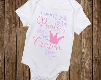Princess Bodysuit, Baby Girl