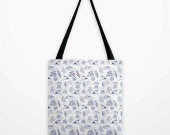 "Minnesota Loon Tote Bag - 16""x16"""