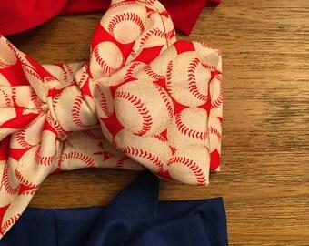 Baseball Cotton Headwrap