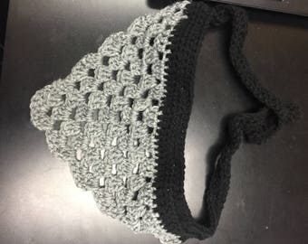 Large Hand crocheted dog bandana