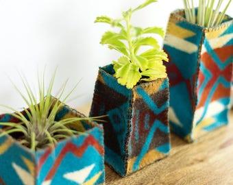 Air Plant Holder - Geometric Plant Holder - Southwest Decor - Desk Planter - Succulent Holder - Plant Lovers Gift - Eco Friendly Gift