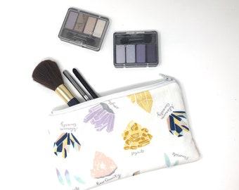 Crystal Cosmetic Bag, Makeup Brush Holder, Make-up Bag, Makeup Bag, Pencil Case, Makeup Organizer, Makeup Organizers, Zipper Pouch, Wicca
