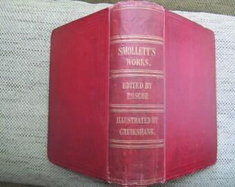 Smollett's Works. Illustrated by George Cruikshank. 1860
