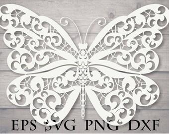 Download Zentangle butterfly | Etsy
