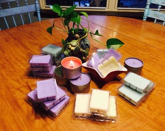 Soy Wax Candles and Soy Wax melts