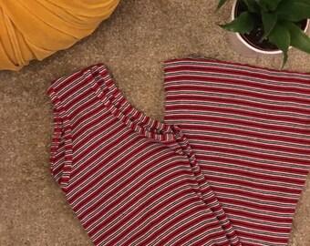 90's Ribbed Mini Dress